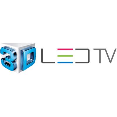 3D led TV Samsung logo vector