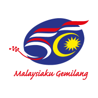 50 Years Malaysia vector logo
