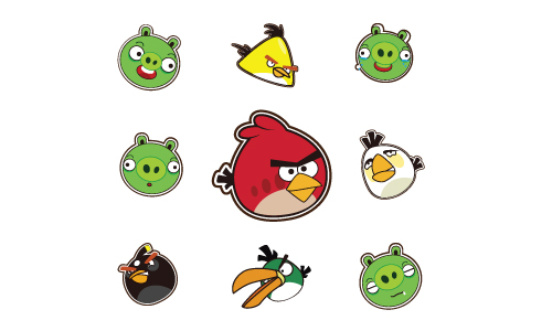 Download free Angry Birds vector logo. Free vector logo of Angry Birds, logo Angry Birds vector format.