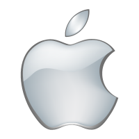 Apple 3D vector logo