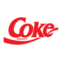 Coke logo vector