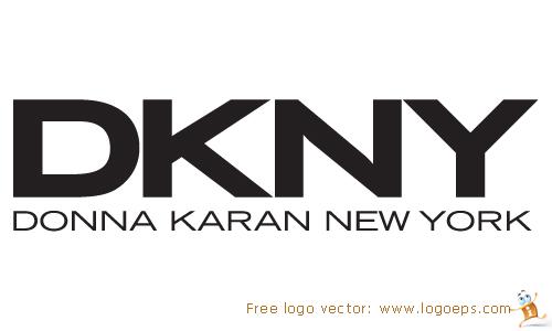DKNY logo vector in .EPS format