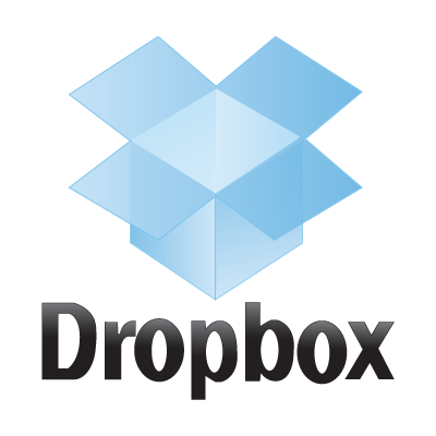 Dropbox logo vector
