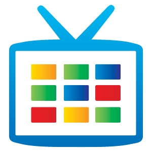Google TV icon vector in (EPS, AI, CDR) free download