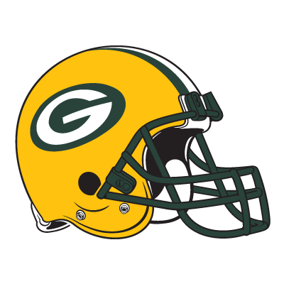Green Bay Packers Helmet logo vector