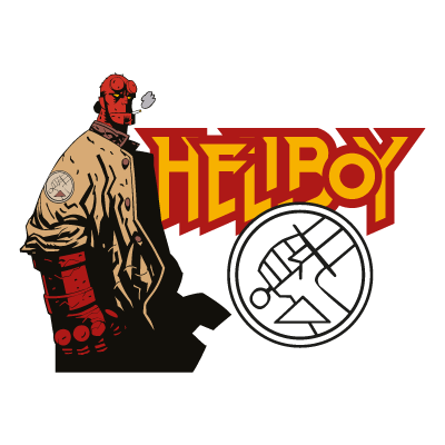 Hellboy logo vector