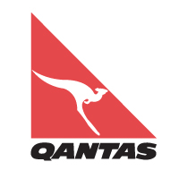Qantas Airlines logo vector