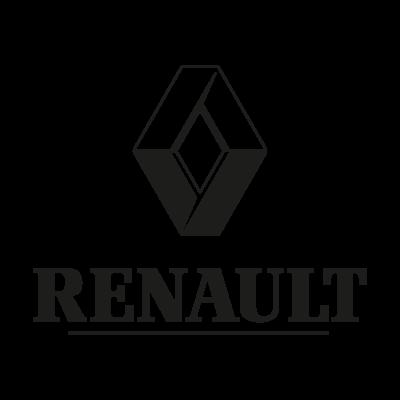 Renault black logo vector