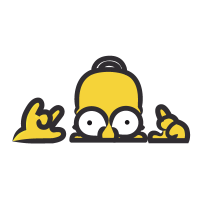 The Simpsons vector logo