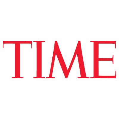 Time magazine logo vector