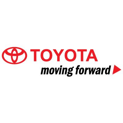 Toyota Moving forward logo vector