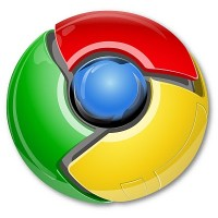 Google Chrome Icon vector