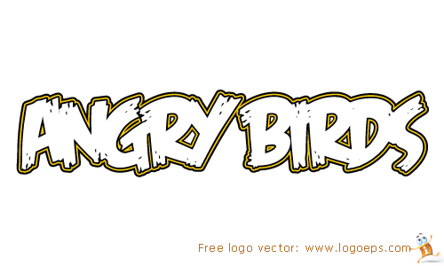 Angry Birds logo vector in .EPS format