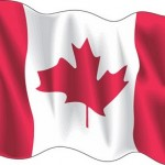 Canada wave flag vector logo free