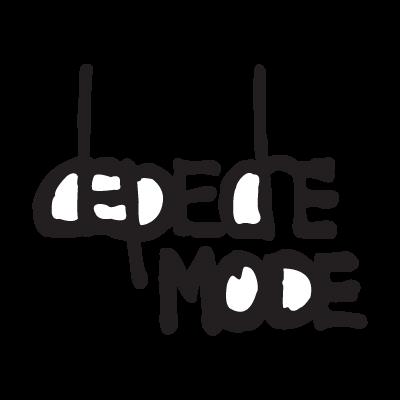 Depeche Mode logo vector