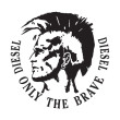 Diesel Only The Brave logo vector