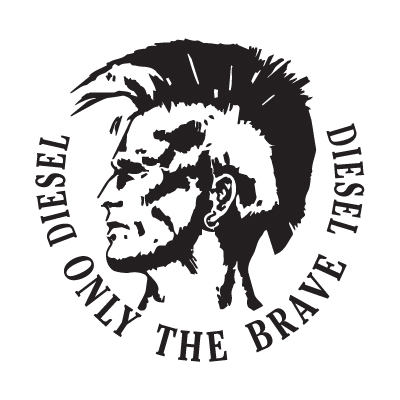 Diesel Only The Brave logo vector in .EPS vector format