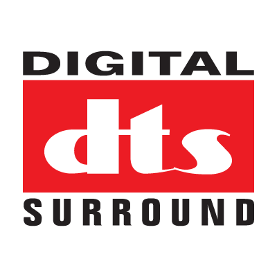 Digital DTS Surround logo vector