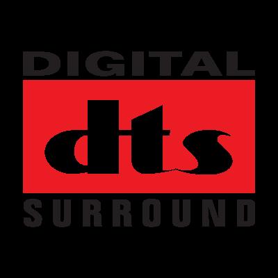 Digital DTS Surround logo vector