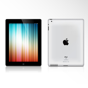 iPad 2 vector image