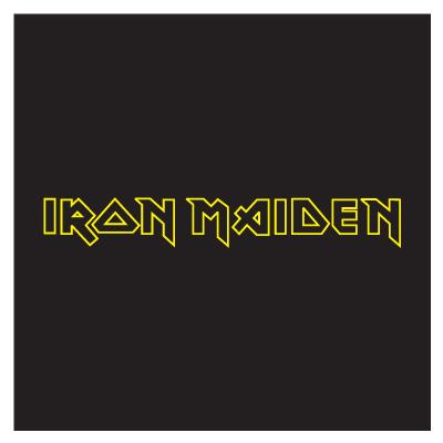 Iron Maiden logo vector