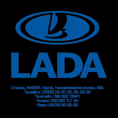 Lada logo vector