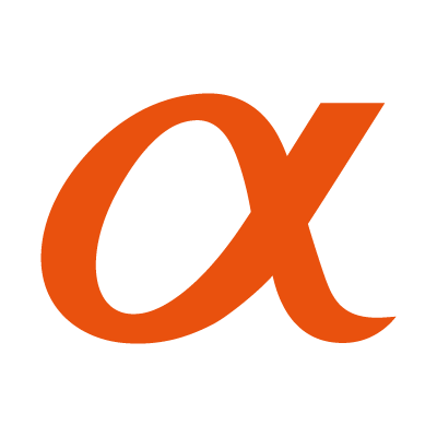 Sony Alpha logo vector