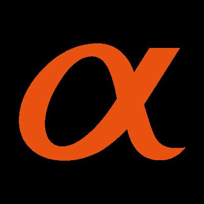Sony Alpha logo vector