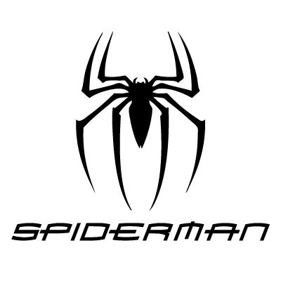 Spiderman logo vector, logo Spiderman in .AI format