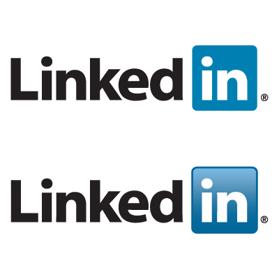 Linkedin logo vector
