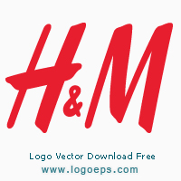 H&M logo, logo of H&M, download H&M logo, H&M, vector logo