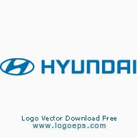 Hyundai logo vector