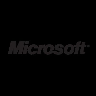Microsoft logo vector