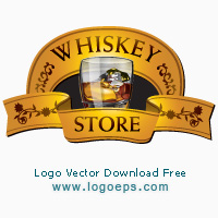 Whiskey Store Template logo vector