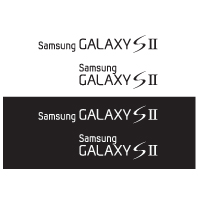 Samsung Galaxy S 2 logo vector free for download