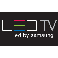 Samsung LED TV logo vector