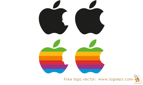 Apple Logo Tribute To Steve Jobs