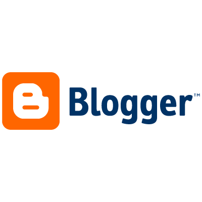 Blogger logo vector