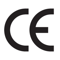 CE mark – 032 Sign logo vector