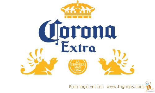 Corona Extra logo vector, logo of Corona Extra, download Corona Extra logo, Corona Extra AI, free Corona Extra logo