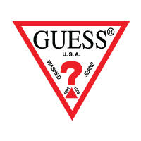 GUESS Jeans, Clothing logo vector