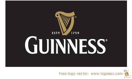 Guinness logo vector, logo of Guinness eps format