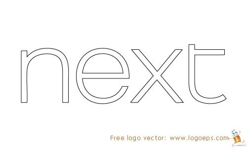 next Clothing logo vector, logo of next Clothing, download next Clothing logo, next Clothing, free next Clothing logo
