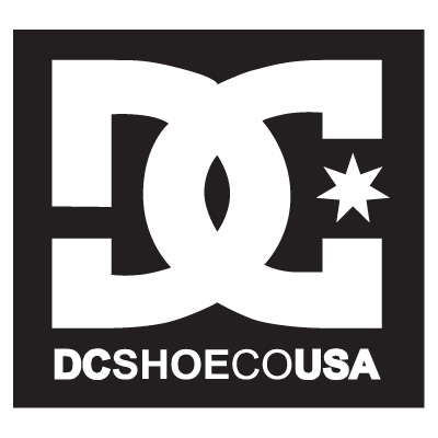 DC shoes logo vector in .AI format