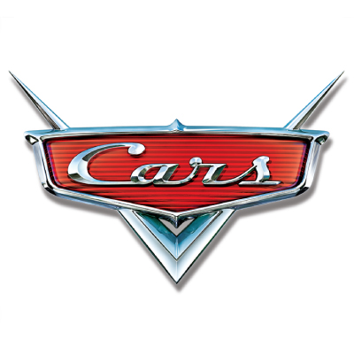 Disney Pixar cars logo vector