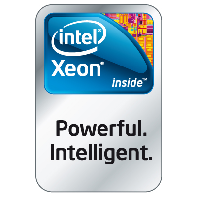 Intel Xeon logo vector