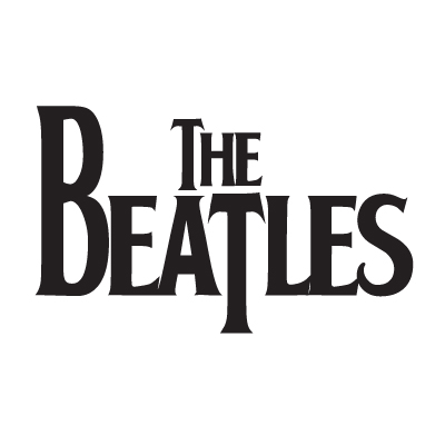 The Beatles logo vector