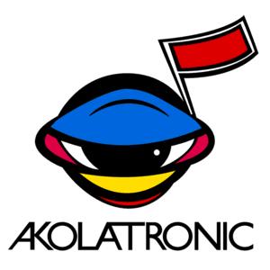 Akolatronic logo vector