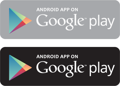 android app on google play vector  logoeps.com