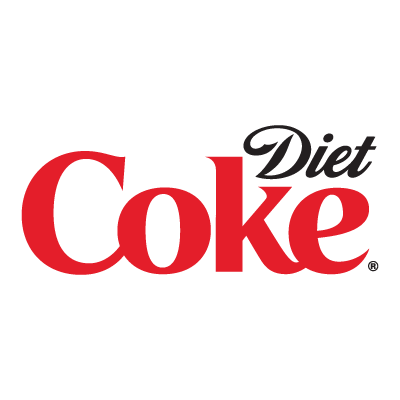 Diet Coke logo vector in (.EPS, .AI, .CDR) free download